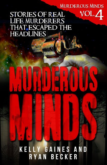 Murderous Mind Volume 4 Book Cover By Ryan Becker