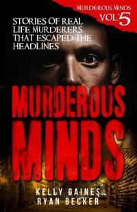 Murderous Mind Volume 5 Book Cover By Ryan Becker