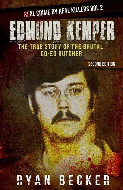 Edmund Kemper book Cover By Ryan Becker